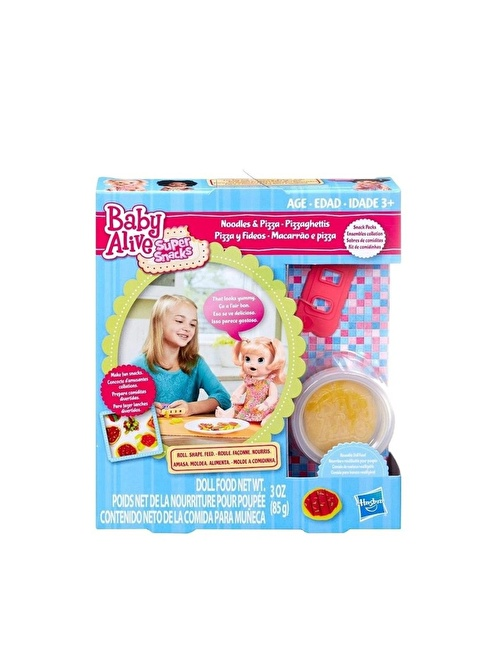 Baby Alive Baby Alive Snack Packs Yedek Mama Paketi Renkli